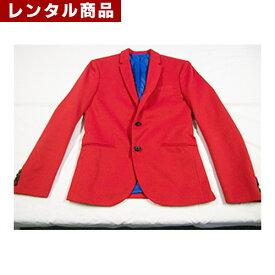 【レンタル】 赤ジャケット・ハットセット(M/L/LL)
