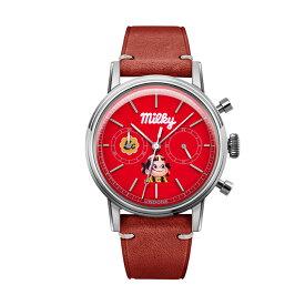 ペコちゃん 腕時計 不二家 ミルキー70周年記念 時計 メンズ レディース 送料無料【Milky70`s Peko Red】