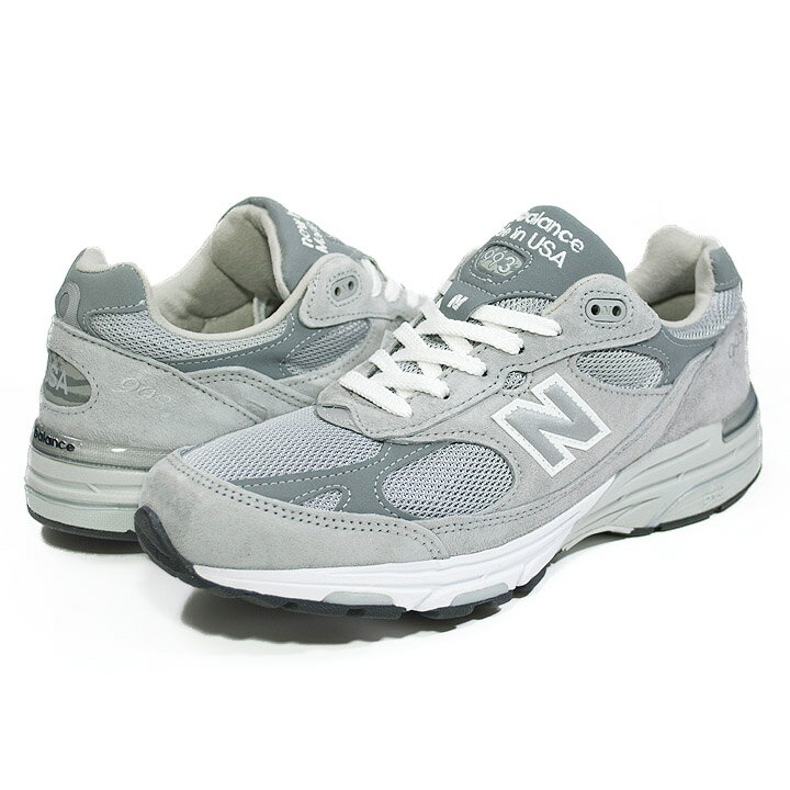 OUTLET ニューバランス New Balance MR993GL width:D Made in USA スウェード・ナイロンメッシュ グレー メンズ・レディスサイズ【あす楽対応】