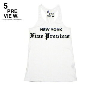 5PREVIEW TRIBUNE TANKTOP (WHITE)