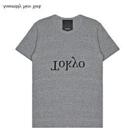 [期間限定 | 30%OFFセール] ASSEMBLY (アッセンブリー) LOGO CITY T-SHIRT - TOKYO (HEATHER GREY) [Tシャツ カットソー トップス ブランド ロゴ ストリート スポーツ スケート メンズ ユニセックス 東京 半袖] [ヘザー グレー]