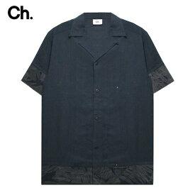 CHAPTER (チャプター) ABRA SHORT SLEEVE SHIRT (FLORAL) [オープンカラーシャツ 開襟シャツ トップス ブランド カジュアル ドレス キューバ アロハ フローラル ストリート モード メンズ ユニセックス 無地 花柄 半袖] [フローラル]