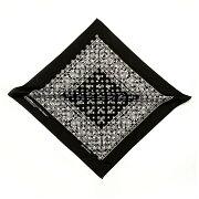 ORIGINALFANI(オリジナルファニ)SANTANAFAN-DANA(BLACK)[バンダナストールモノグラムメンズユニセックス][ブラック]