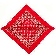 ORIGINALFANI(オリジナルファニ)SANTANAFAN-DANA(RED)[バンダナストールモノグラムメンズユニセックス][レッド]