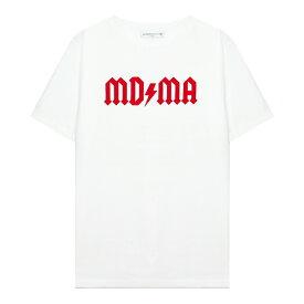 FASHION CRIMINAL LONDON (ファッション クリミナル ロンドン) AVENTURA RED TEE (WHITE/RED) [Tシャツ カットソー メンズ ユニセックス] [ホワイト/レッド]