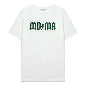 FASHION CRIMINAL LONDON (ファッション クリミナル ロンドン) FOREST GREEN TEE (WHITE/GREEN) [Tシャツ カットソー メンズ ユニセックス] [ホワイト/グリーン]