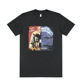 【半額50%OFFクーポン】HEIRS (ヘアーズ) RAEKWON x METALLICA TEE (BLACK) [T-シャツ カットソー トップス ブランド ダメージ ヴィンテージ バンド ツアー パンク ロック ラップ ヒップホップ ストリート スケート メンズ ユニセックス 半袖] [ブラック]