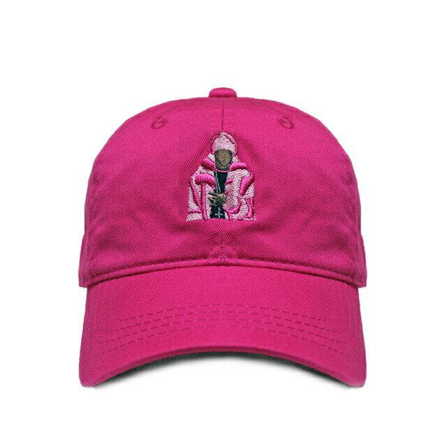 ICONIC CULTURE (アイコニック カルチャー) PINK MINK CAP (PINK) [6パネルキャップ/ベースボール/ラップ/ヒップホップ/CAM'RON/DAD/UNISEX] [ピンク]