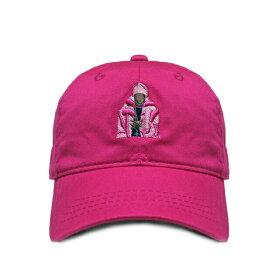 ICONIC CULTURE (アイコニック カルチャー) PINK MINK CAP (PINK) [6パネルキャップ ストラップバック ブランド ベースボール ハット ラップ ヒップホップ ストリート スケート メンズ レディース ユニセックス CAM'RON DIPLOMATS DAD UNISEX] [ピンク]
