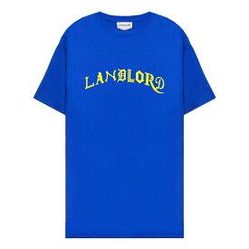 LANDLORD NEW YORK (ランドロード) LANDLORD MLB TSHIRT (ROYAL BLUE) [Tシャツ カットソー メンズ ユニセックス] [ロイヤル ブルー]