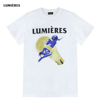 LUMIERES(LUMIERE)THE DEVIL'S IN THE DETAIL TEE(WHITE)[T恤/針織/UNISEX][白]