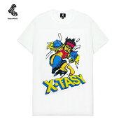NATUREWORLD(ネイチャーワールド)X-TASYTEE(WHITE)[Tシャツ/カットソー/トップス/グラフィック/ロゴ/UNISEX][ホワイト]