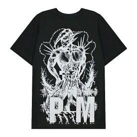 【最大50%OFF】P.A.M. / PERKS AND MINI (パム / パークス アンド ミニ) BRICKLAYER SS TEE (BLACK) [Tシャツ カットソー トップス ブランド グラフィック ロゴ ストリート スポーツ スケート メンズ ユニセックス 刺繍 半袖 PAM] [ブラック]
