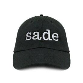 【週末限定 P10倍】PROJECTS BY SANTANA (プロジェクツ バイ サンタナ) SADE DAD CAP (BLACK) [6パネル キャップ ストラップバック スナップバックキャップ シャーデー ブランド ストリート スケート メンズ ユニセックス 刺繍 帽子 UNISEX] [ブラック]