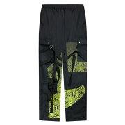 ROGIC(ロジック)GRADATIONPYTHONNYLONBONTAGEPANTS(BLACK/YELLOW)[ボンテージパンツ/パイソン/グラデーション/ストリート/スポーツ/スケート/メンズ/レディース/ユニセックス/ファッション/UNISEX][ブラック/イエロー]