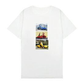XYLK (シルク) LAMBORGHINI T-SHIRT (WHITE) [Tシャツ カットソー トップス ブランド ランボルギーニ ロゴ ストリート スポーツ スケート メンズ ユニセックス 半袖] [ホワイト]