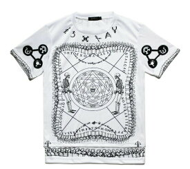 BRIU HOMME (ブリウ オム) SAGES OF THE SEVEN GATES CUT & SEWN (WHITE) [Tシャツ カットソー レイヤード メンズ ユニセックス] [ホワイト]
