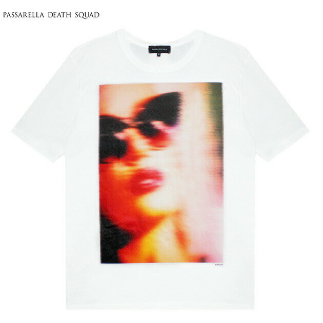 PASSARELLA DEATH SQUAD × PENTHOUSE (パサレラ デス スクアッド) NICOLE ANISTON T-SHIRT (WHITE) [Tシャツ/カットソー/ペントハウス/アート/グラフィック/UNISEX] [ホワイト]