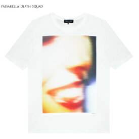 PASSARELLA DEATH SQUAD × PENTHOUSE (パサレラ デス スクアッド) DANA DANNY T-SHIRT (WHITE) [Tシャツ カットソー トップス ブランド ペントハウス アート グラフィック ストリート メンズ レディース ユニセックス 半袖 UNISEX] [ホワイト]