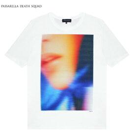 PASSARELLA DEATH SQUAD × PENTHOUSE (パサレラ デス スクアッド) MELANIE RIOS T-SHIRT (WHITE) [Tシャツ カットソー トップス ブランド ペントハウス アート グラフィック ストリート メンズ レディース ユニセックス 半袖 UNISEX] [ホワイト]