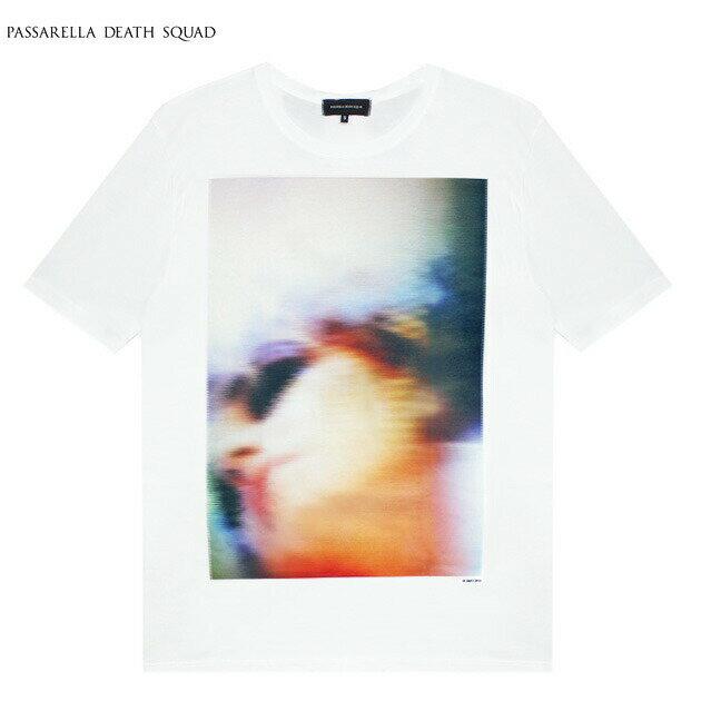 PASSARELLA DEATH SQUAD × PENTHOUSE (パサレラ デス スクアッド) LILY KRIS RYAN T-SHIRT (WHITE) [Tシャツ/カットソー/ペントハウス/アート/グラフィック/UNISEX] [ホワイト]