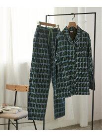 enman chidori パジャマ une nana cool ウンナナクール インナー/ナイトウェア ルームウェア/その他 グリーン ピンク【RBA_E】【先行予約】*[Rakuten Fashion]