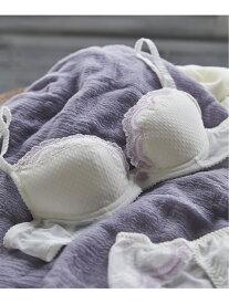 [Rakuten Fashion]【SALE/50%OFF】Noble dots 3/4カップブラジャー une nana cool ウンナナクール インナー/ナイトウェア ブラジャー ホワイト ネイビー ブルー【RBA_E】