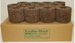 水槽 水質浄化 環境浄化EBB ブロック「エコバイオ ブロック・オクト(12個入り)」02P23Apr16