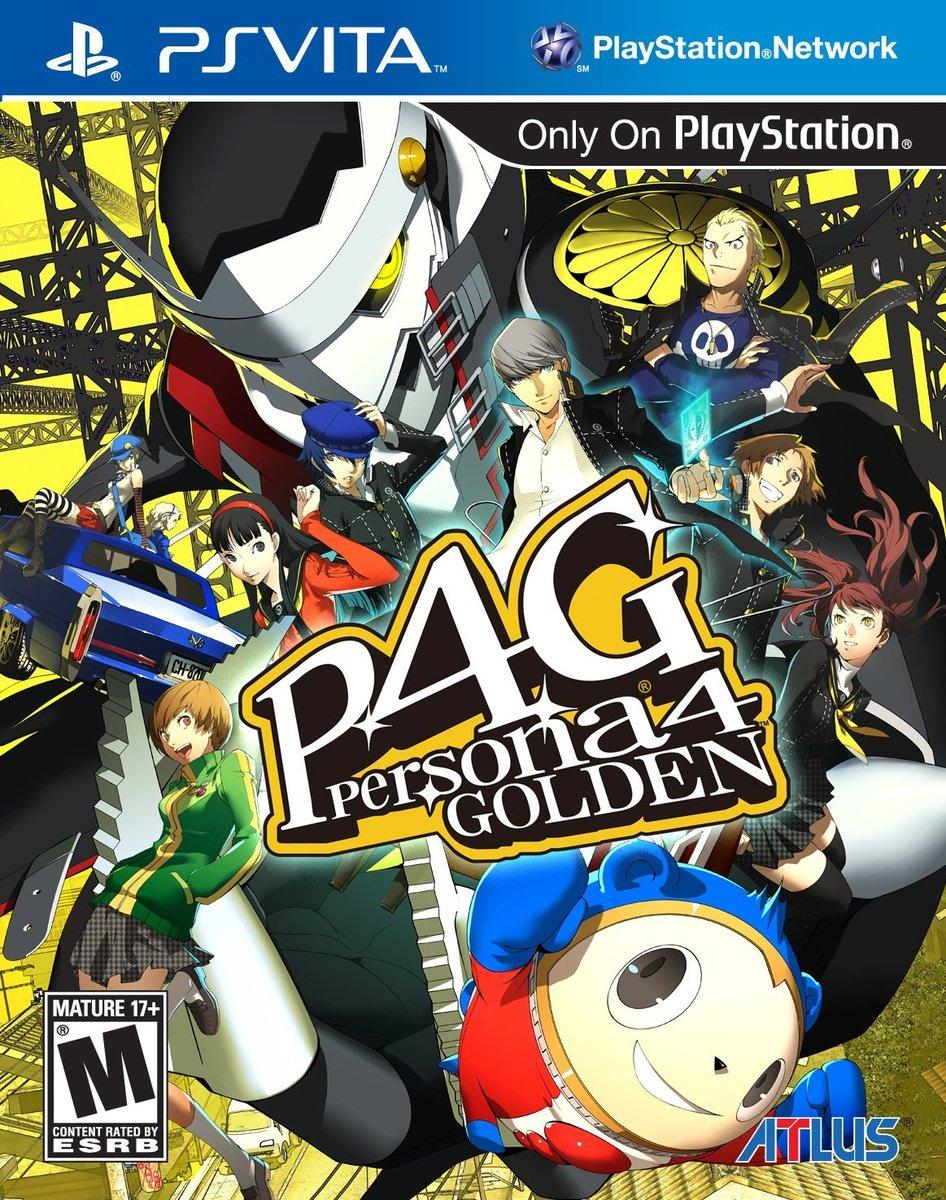 Persona 4 Golden ペルソナ 4 ゴールデン PSVITA 輸入:北米版