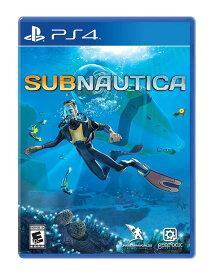 【在庫あり 新品】subnautica サブノーティカ PS4 日本語字幕対応 輸入 北米版