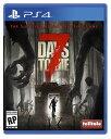 【新品】7 Days to Die セブンデイズ トゥ ダイ PS4 輸入 北米版