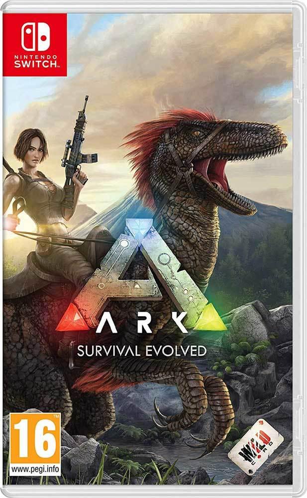【新品 在庫あり】ARK Survival Evolved アーク サバイバルエボルブ Nintendo スイッチ 日本語対応 UK 輸入版