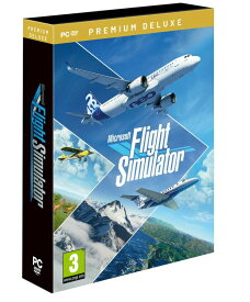 【予約】Microsoft Flight Simulator 2020 Premium Deluxe Edition フライトシミュレーター 2020 プレミアムデラックスエディション PC ディスク版 輸入版