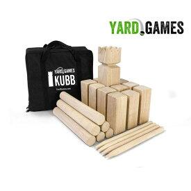 Kubb クッブ プレミアムセット ヤードゲーム社製 日本正規代理店品 アウトドア スポーツゲーム バッグ付き
