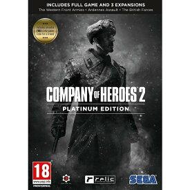【取り寄せ】Company of Heroes 2 Platinum Edition (Inc. Extra Free COH2 Game Code) PC 輸入版