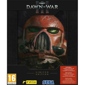 【お取り寄せ】Warhammer 40.000: Dawn of War III (3): Limited Edition (POL/RUS/HUN Box) /PC 輸入版