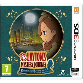 【取り寄せ】Layton's Mystery Journey: Katrielle and the Millionaires' Conspiracy (German Box) /3DS UK輸入版