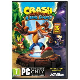 【取り寄せ】Crash Bandicoot N. Sane Trilogy /PC (STEAM CODE ONLY WORKS IN MIDDLE EAST AND AFRICA) 輸入版
