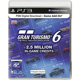 【取り寄せ】PSN Digital Download Code - 2.5 Million Gran Turismo Game Credits /PS3 輸入版