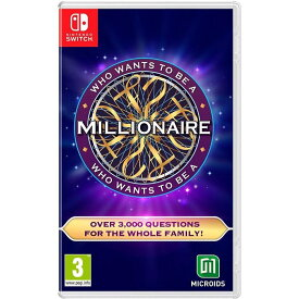 【取り寄せ】Who Wants to Be a Millionaire? Switch 輸入版