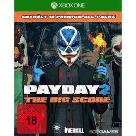 【取り寄せ】Payday 2: The Big Score (NO OFFICIAL XBOX SEAL BUT NEW) (German Box) Xbox One 輸入版