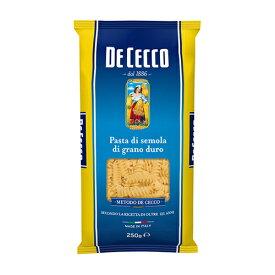 ディ・チェコ No.34フスィリ/フジッリ ゆで時間12分前後 500g イタリア産 セモリナパスタ Fusilli n° 34 DeCecco ディチェコ