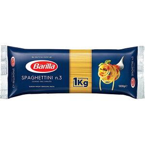 バリラ オーロ・シェフ スパゲッティNo.3(1.4mm) 容量:1000g/1kg イタリア産 セモリナパスタ Spaghettini n. 3 Barilla ロングパスタ 非常用食品 大容量