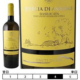 クエルチア・ディ・アニバーレ・ビアンコ・バジリカータ・IGT[2019]テヌーテ・ダウリア 白 750ml Tenute Dauria[Quercia di Annibale Bianco Basilicata IGT] イタリア バジリカータ 白ワイン