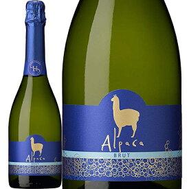 サンタ・ヘレナ・アルパカ・スパークリング・ブリュット N/V SANTA HELENA ALPACA SPARKLING BRUT 泡白 750ml チリ スパークリングワイン セントラル・ヴァレー