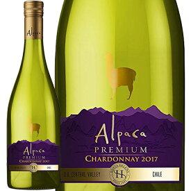 サンタ・ヘレナ・アルパカ・プレミアム・シャルドネ 2017年 SANTA HELENA ALPACA PREMIUM CHARDONNAY 白 750ml チリ 白ワイン セントラル・ヴァレー