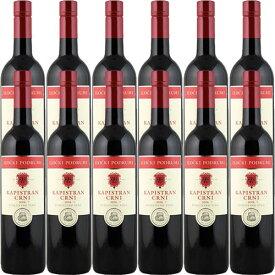 【送料無料】12本セット/1箱 カピストゥラニ・ツルニ・セレクテッド[2017]イロチュキ・ポドゥルミ 赤 750ml Ilocki Podrumi[Kapistran Crni Selected]クロアチア 赤ワイン ワインセット 業務用