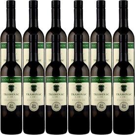 【送料無料】12本セット/1箱 トラミナック・セレクテッド[2019]クロアチア 白 750ml Ilocki Podrumi[Traminac Selected]イロチュキ・ポドゥルミ 白ワイン ワインセット 業務用