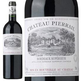 シャトー・ピエライユ ルージュ[2016]赤 750ml Chateau Pierrail Rouge[シャトー元詰 Mis en Bouteille au Chateau] フランス ボルドー 赤ワイン