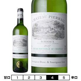 シャトー・ピエライユ ブラン ブラン[2018]白 750ml Chateau Pierrail Blanc Blanc[シャトー元詰 Mis en Bouteille au Chateau] フランス ボルドー 白ワイン